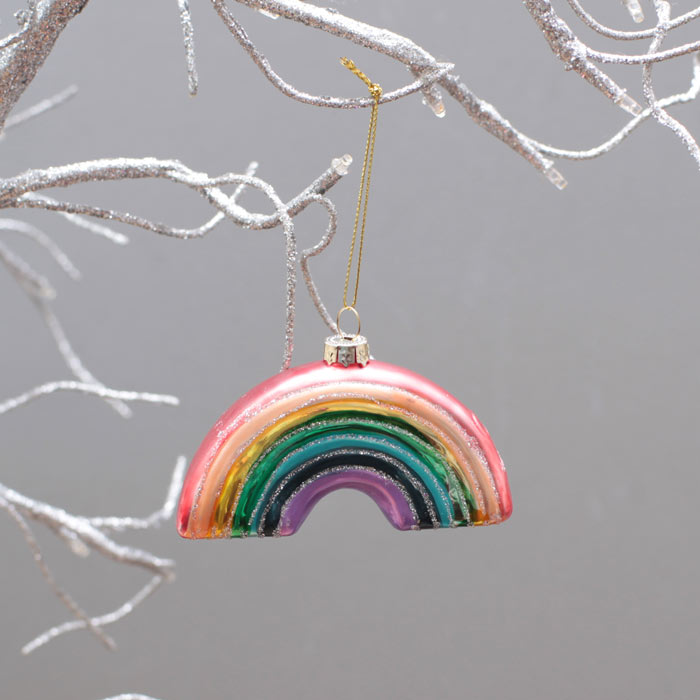 Rainbow Christmas Trees: Sunnylife Rainbow Christmas Tree Decoration