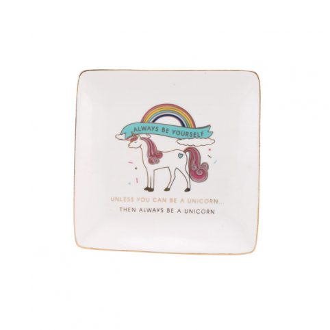 Always Be a Unicorn Trinket Dish - Buy Online UK