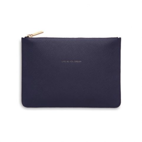 Estella Bartlett Navy Clutch Bag - £15 Free UK Delivery