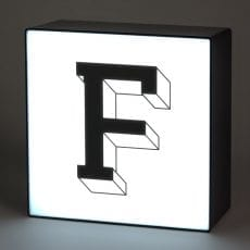 Letter F Lightbox - £13.50 Free UK Delivery