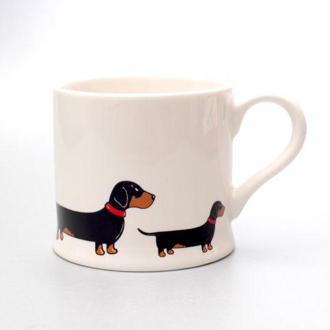 Sweet William Dachshund Mug - Free UK Delivery