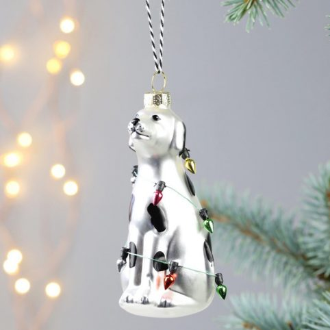 Dalmatian Christmas Bauble - Buy Online UK