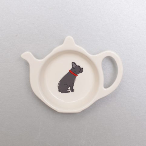 French Bulldog Teabag Holder from Sweet Williams