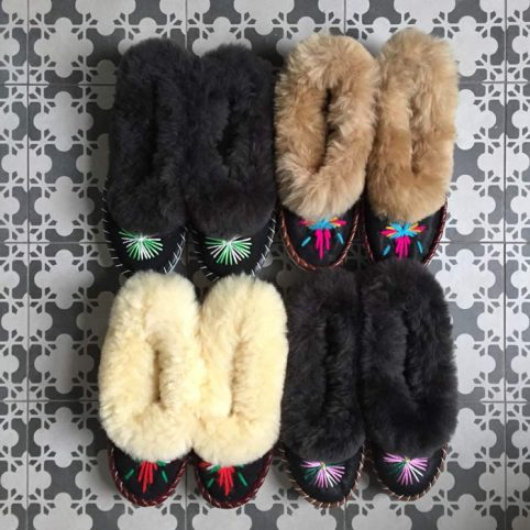 Embroidered Slippers - Buy Online UK Free UK Delivery
