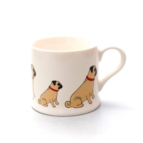 Sweet Williamd Pug Mug - Free UK Delivery