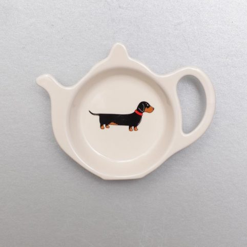 Dachshund Tea bag holder