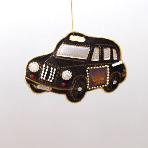 London Taxi Christmas Decoration
