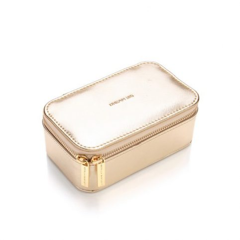 Gold Travel Jewellery Case - Buy Online UK