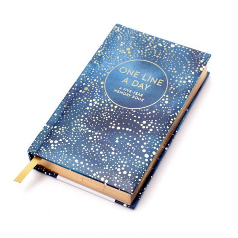 One Line Per Day 5 Year Memory Book - Free UK Delivery