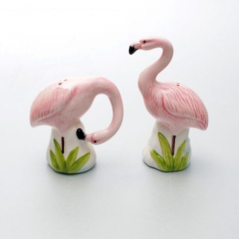 Flamingo Salt and Pepper Shakers From &Klevering