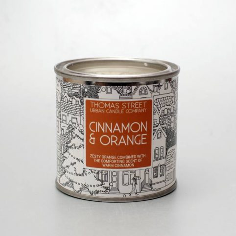 Thomas Street Cinnamon and Orange Candle - £10.50 Free P&P
