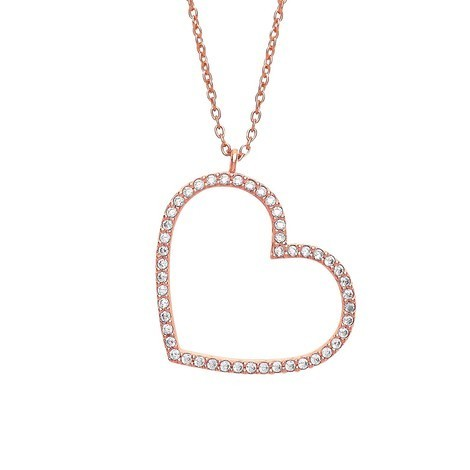 Cubic Zirconia Estella Bartlett Heart Necklace