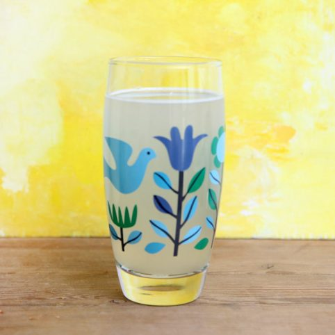 Floral Glass Tumbler from Rex - Buy Online UK