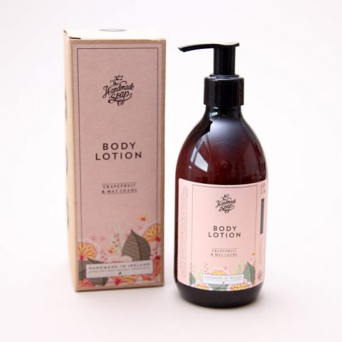 Grapefruit and May Chang Body Lotion from Handmade Soap