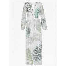 Great Plains Maxi Dress With Palm Leaves Print Buy Online UK