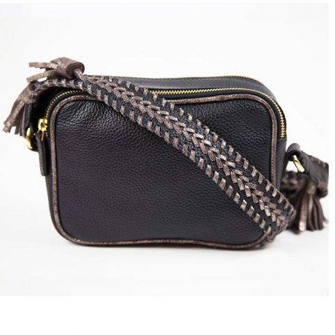 Black Cross Body Bag - Nooki £79.50 Free P&P