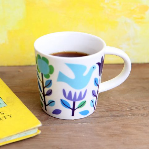 Floral Porcelain Mug From Rex London