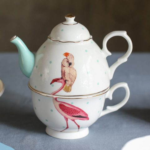 Yvonne Ellen Tea For One Teapot