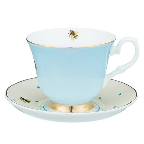 Yvonne Ellen Cup and Saucer - Zebra Design