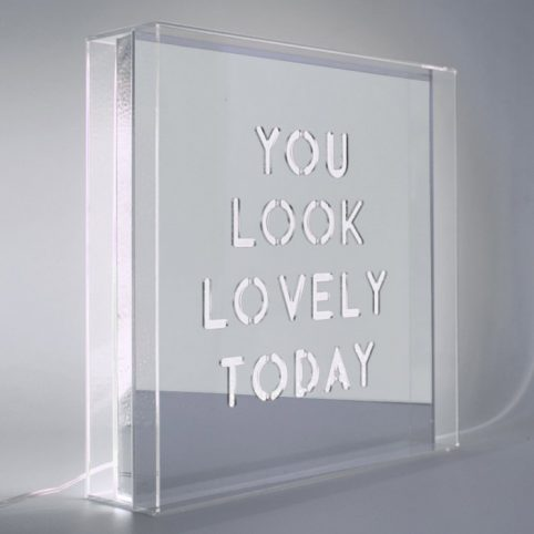 You look lovely Lightbox From Locomocean
