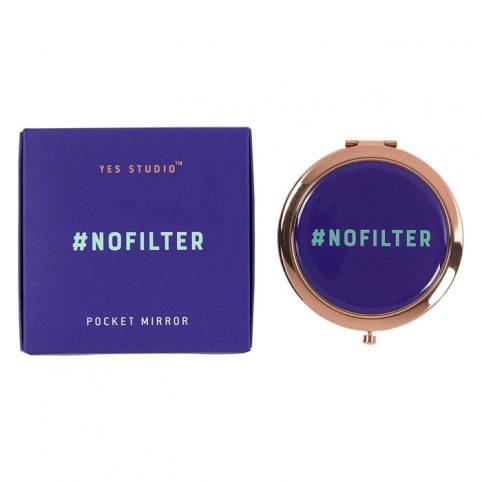 No Filter Compact Mirror - Wild and Wolf