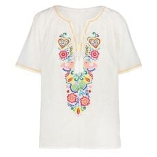 Mexican Embroidered Top - Free UK Delivery