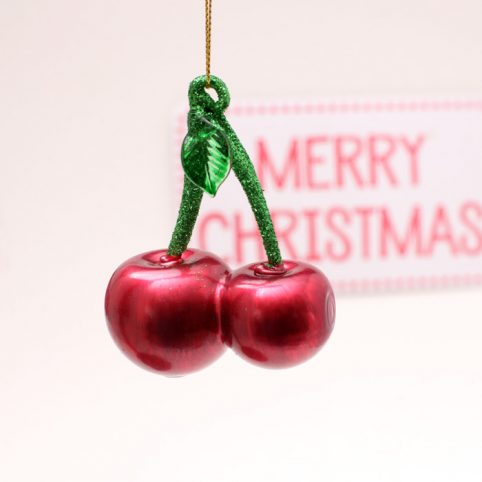 Sunnylife Cherry Festive Ornament - Buy Online UK