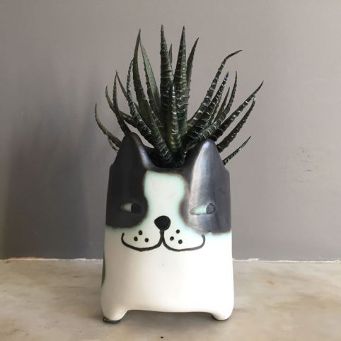 Cat Plant Pot - Novelty Pots UK