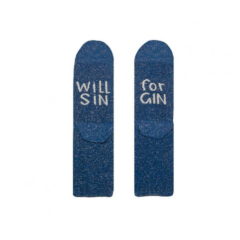 Universe of Us Socks - Will Sin For Gin