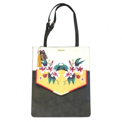 2 in 1 Frida Kahlo Tote and Clutch Bag