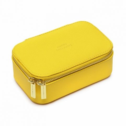 Estella Bartlett Yellow Mini Jewellery Box