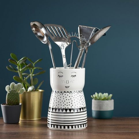 English Tableware Utensil Holder