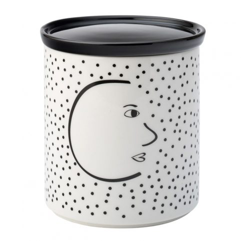 Face Coffee Canister - English Tableware