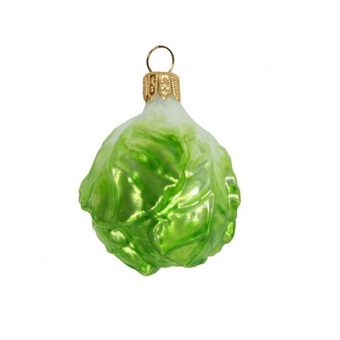 Brussel Sprout Christmas Decoration - Buy UK