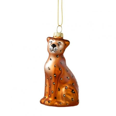 Leopard Christmas Tree Decoration - Buy Online UK