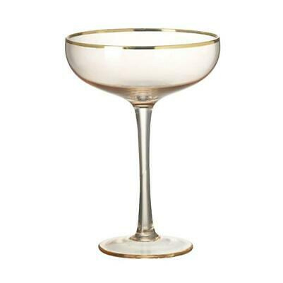 Set of 2 Champagne Coupe Glasses - Buy Online UK