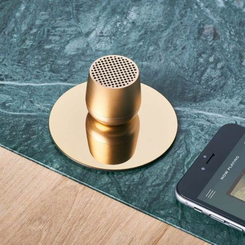 Gold Mini Speaker - Lexon Mino Buy Online UK