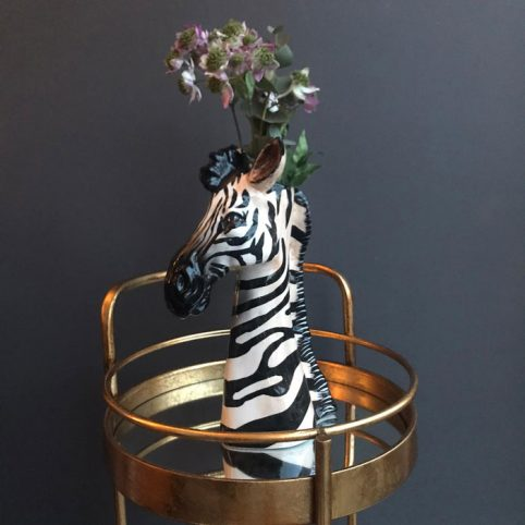 Animal Zebra Vase - Buy Online UK