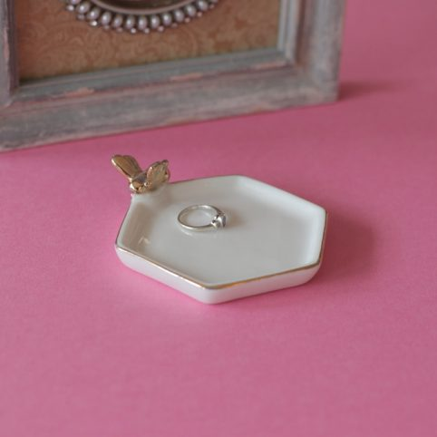 bee trinket dish - purchase online free P&P over £20