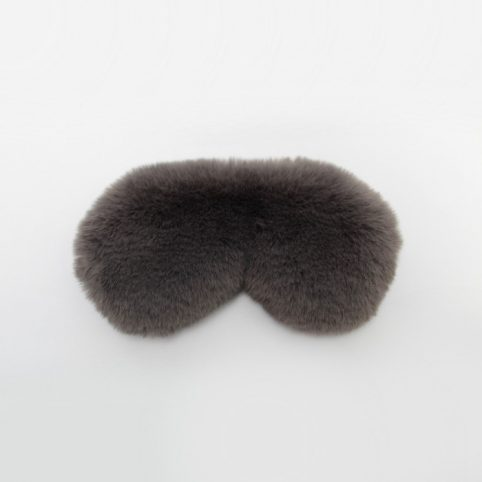 Faux Fur Eye Mask From Chalk - Buy Online