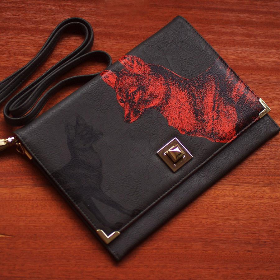 fox clutch bag - Buy Online, UK