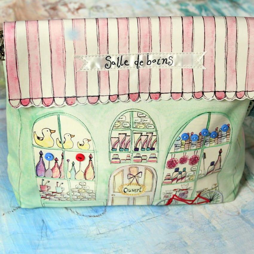 Disaster Designs 'La Boutique' Washbag, buy online UK