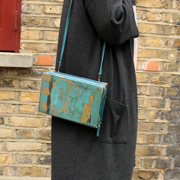 Disaster Designs Bags - Vintage inspired bag by Disaster Designs in the shape of a book