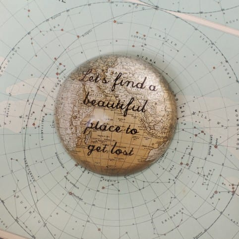 Beautiful Sass and Belle Paperweight gift with a vintage touch