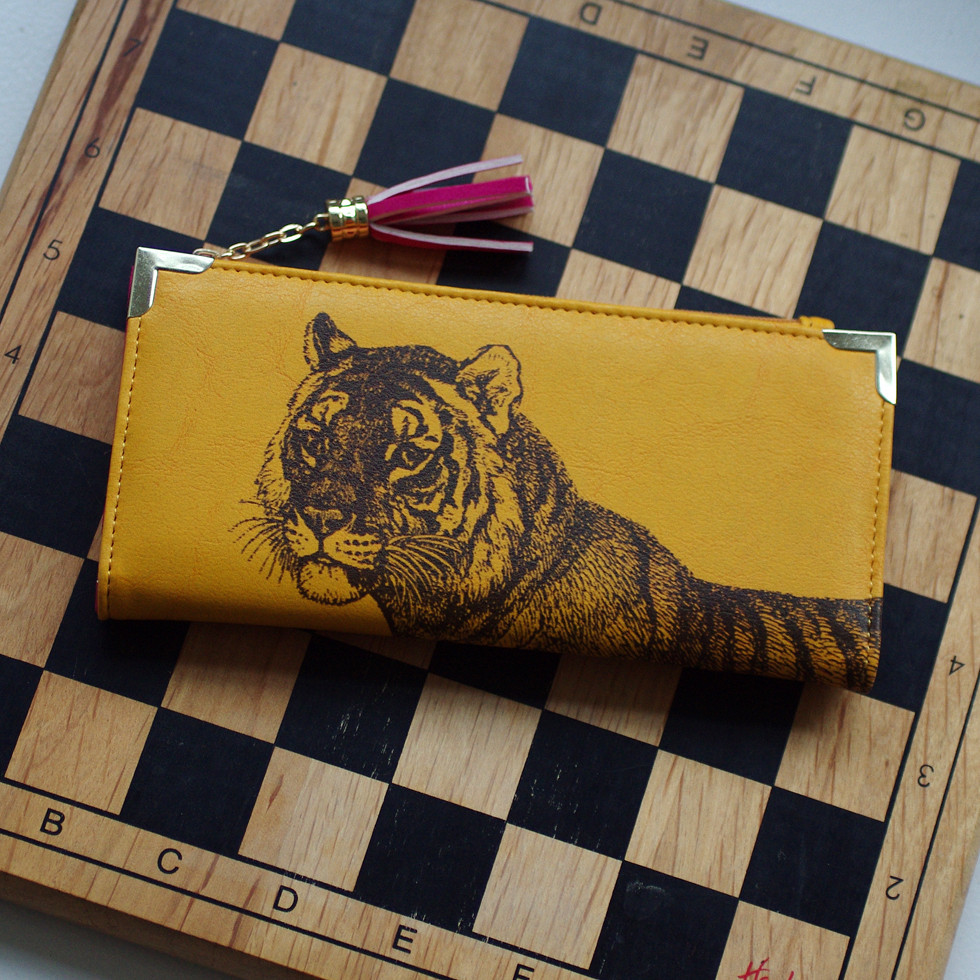 Heritage and Harlequin Tiger Purse