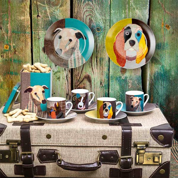 Liven up your breakfast table with animal inspired tableware by Carolyn Van Dyke