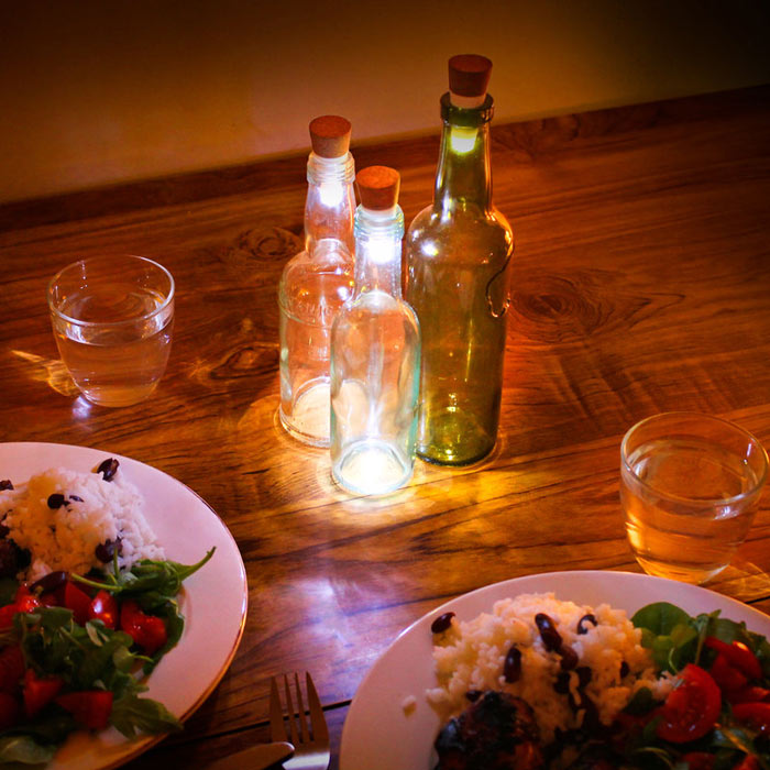 Rechargeable Bottle light by Suck UK, buy online.