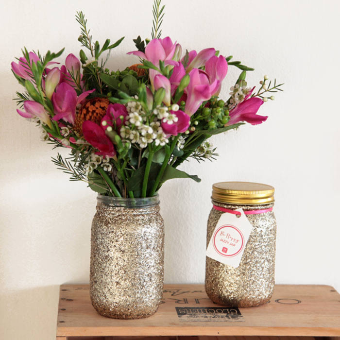 Glitter Jar by Talking Tables Free UK Delivery