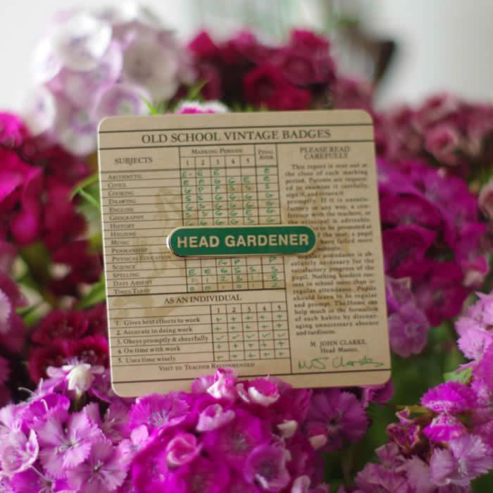 Head Gardener Badge