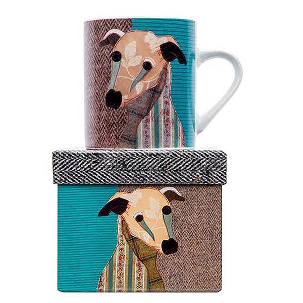 Whippet Mug by Mugpie Poochies range